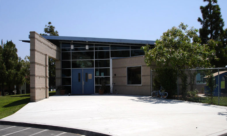 Front of Extended Day Care building
